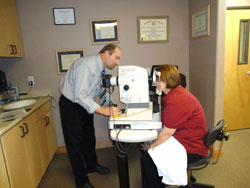 We provide comprehensive vision care products and services